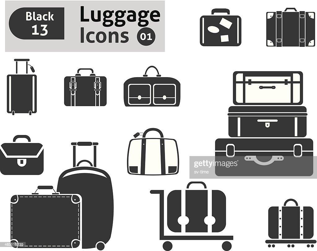 luggage icons