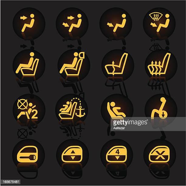 Luminescent Car Indicators