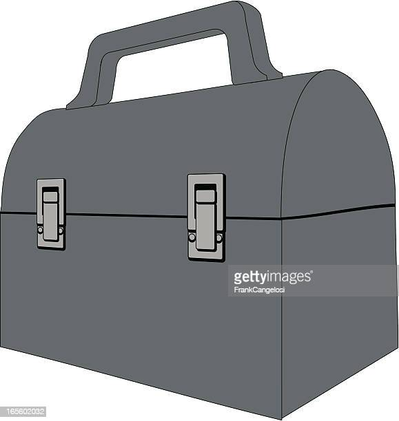 lunchbox - bucket stock illustrations, clip art, cartoons, & icons