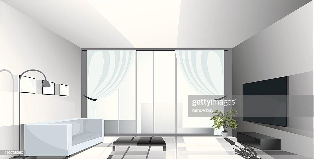 Luxury apartment.