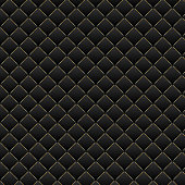 Luxury black background. Dark geometric squares pattern texture.