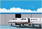 Luxury business jets