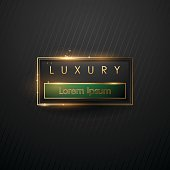 Luxury frame template
