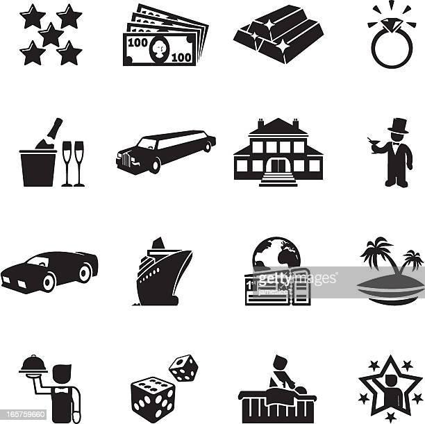 Luxury Life Icons
