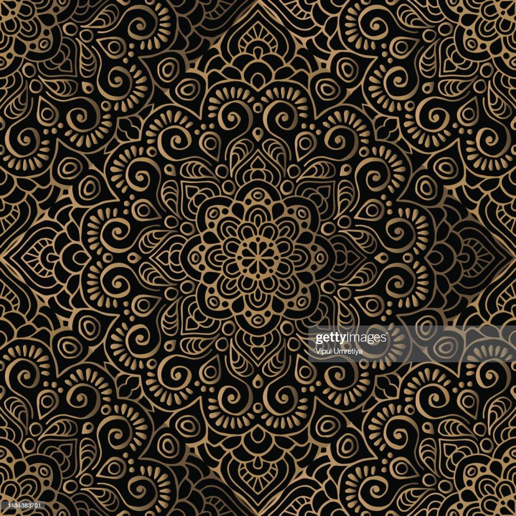Luxury pattern frame : stock illustration