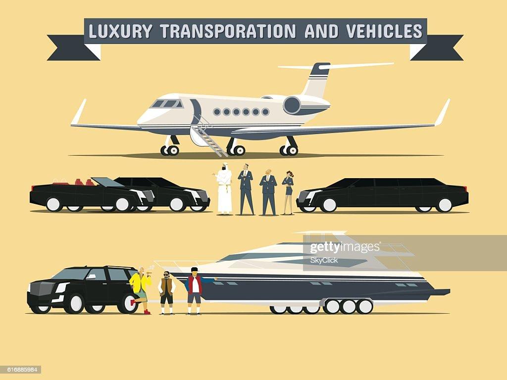 Luxury Transportation and Vehicles