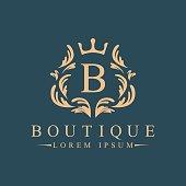 Luxury vector logo