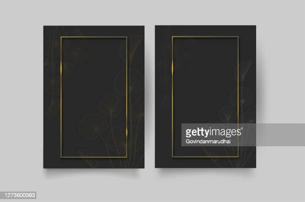 豪華な結婚式の招待状とグリーティングカード - 誕生日カード点のイラスト素材/クリップアート素材/マンガ素材/アイコン素材