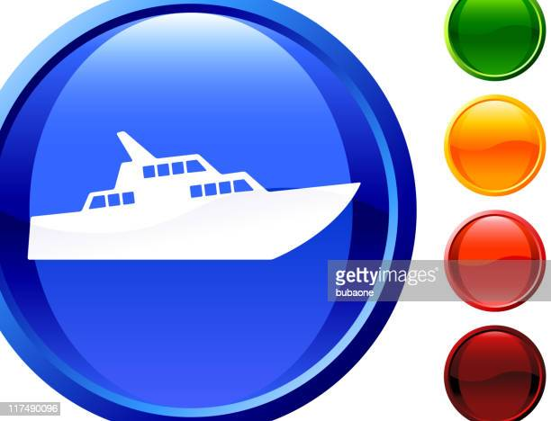 luxury yacht internet royalty free vector art