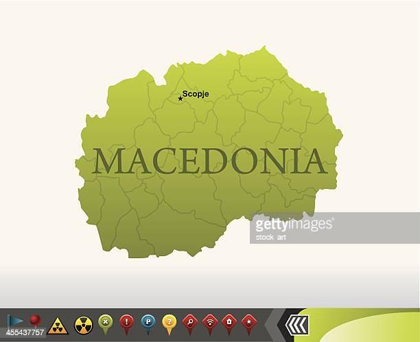 Grüne Karte Mazedonien.60 Hochwertige Mazedonien Stock Vektoren Und Grafiken Getty Images