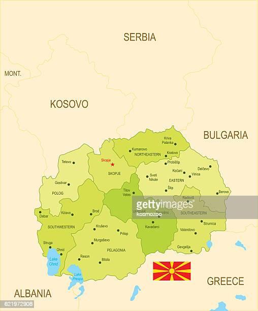 stockillustraties, clipart, cartoons en iconen met macedonia - macedonië land