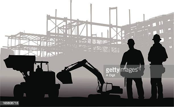 Machinery Vector Silhouette
