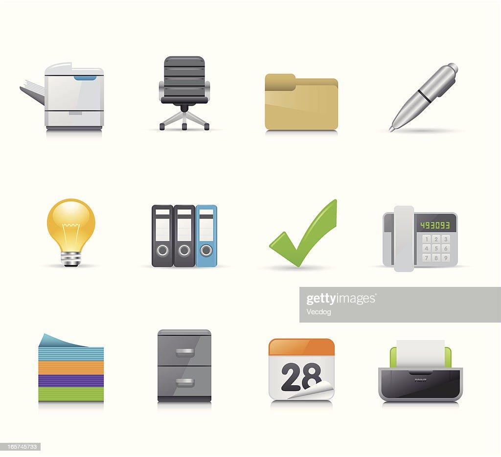 Maco Icon Set | Office