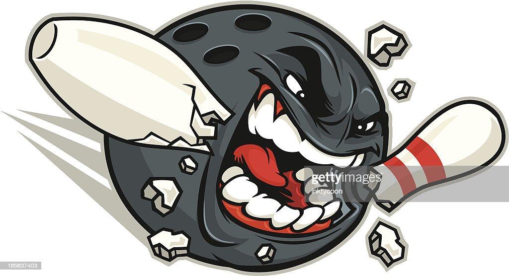 Mad Bowler Mascot