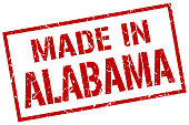 made in Alabama stamp