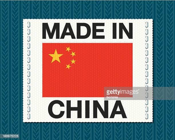 Realizado en China Tag