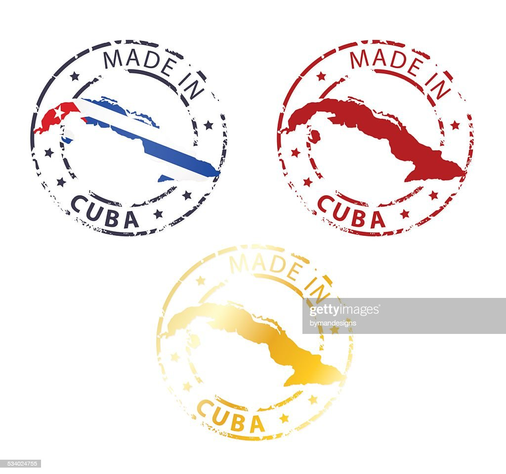 made in Cuba stamp