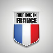 Made in France Shield illustration