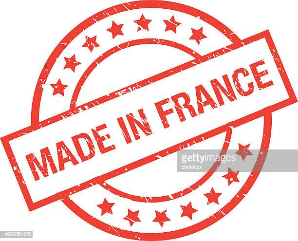 made in france - central europe stock illustrations, clip art, cartoons, & icons