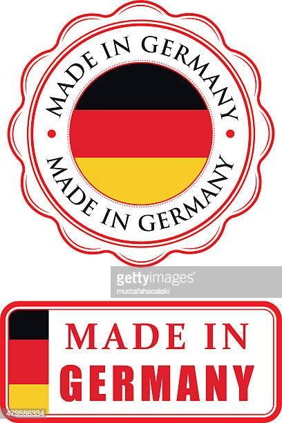 Hergestellt in Deutschland aus Gummi Briefmarken