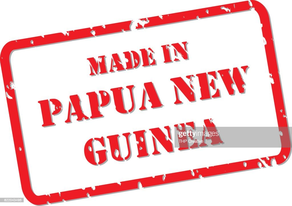 Made in Papua New Guinea Stamp