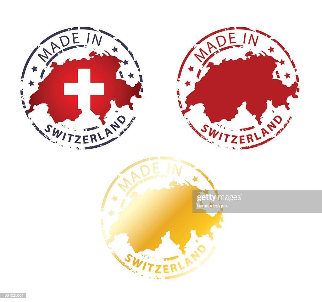 made in Switzerland stamp
