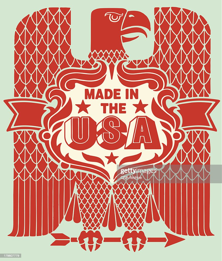 Made in the USA Eagle