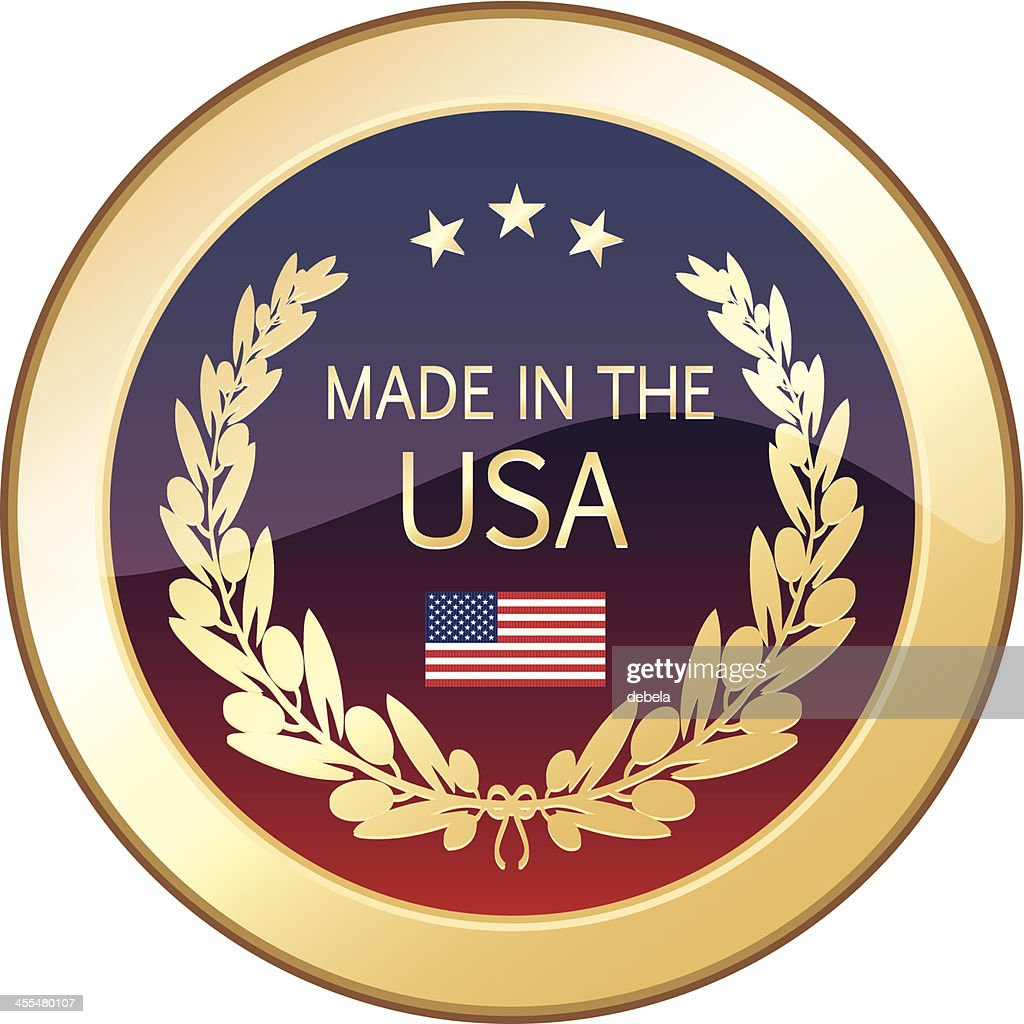 Made In The USA Golden Shield