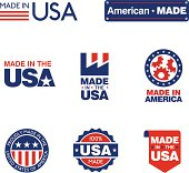 Made in the USA Labels