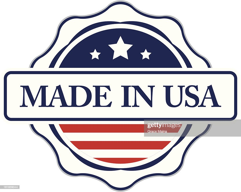 Made in USA label - VECTOR