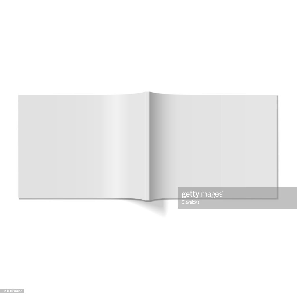 Magazine Cover Realistic Blank Template Vector Art Getty Images