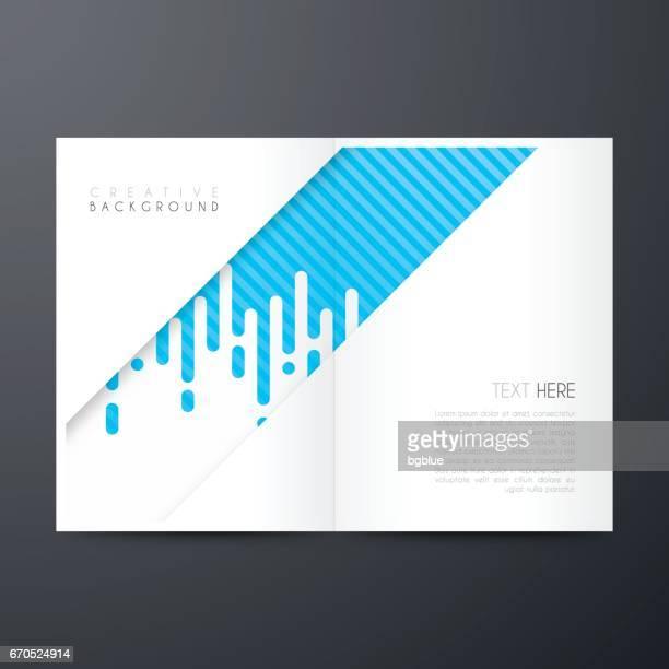 Tijdschrift sjabloon layout, brochure, cover ontwerp, jaarlijkse bedrijfsrapport, flyer