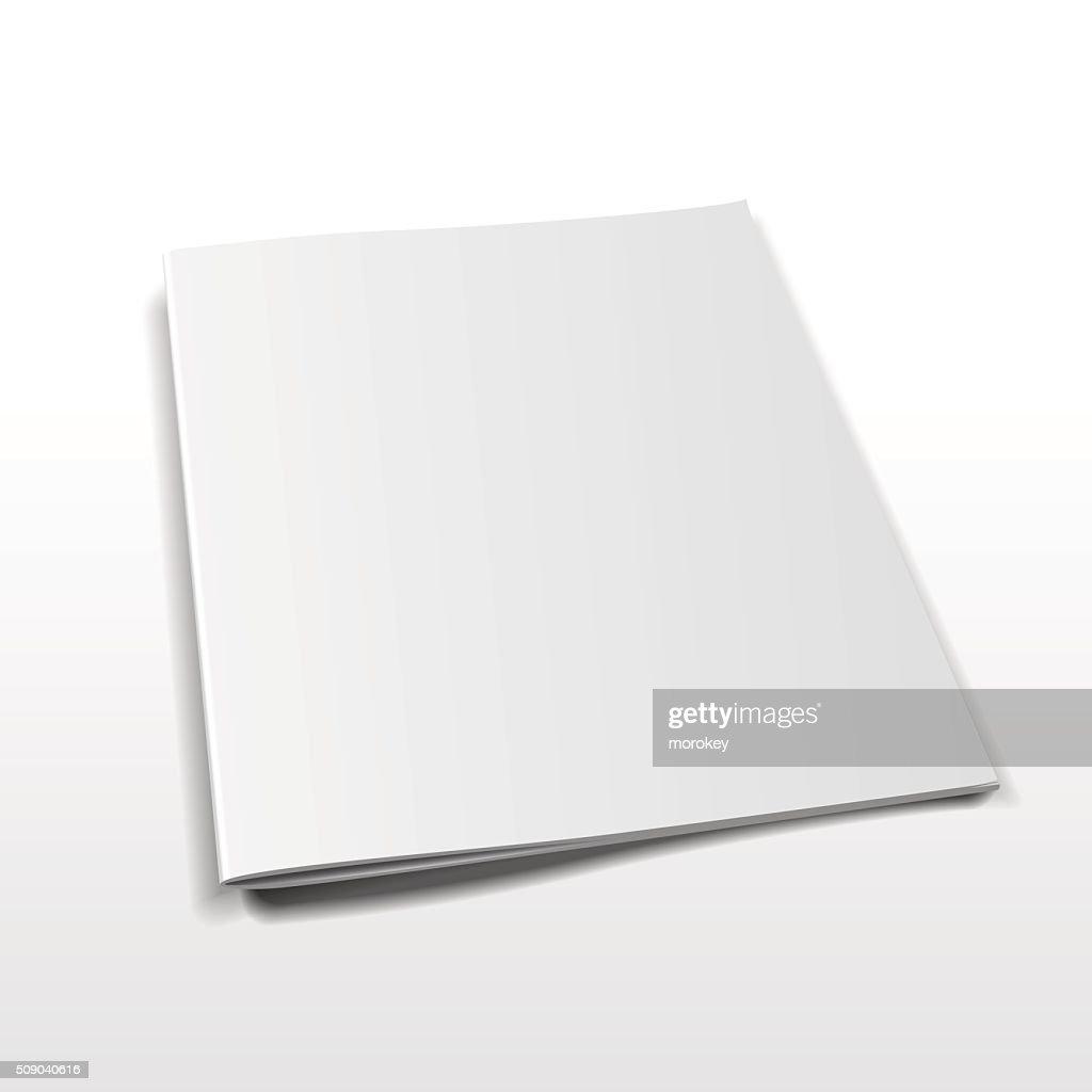 magazine vector mockup