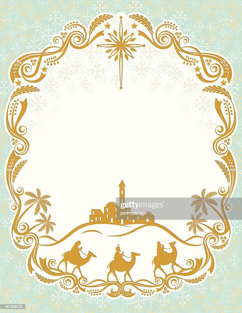 Magi Christmas Card