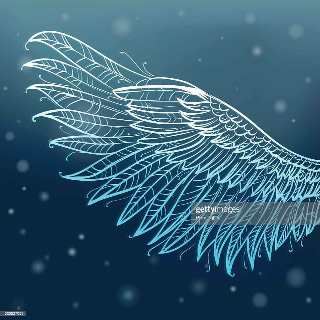 Magic angel wing