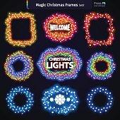 Magic Christmas Frames Set2