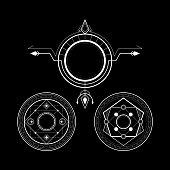 magic circle - set