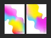 Magic covers. Vivid color. Vector illustration