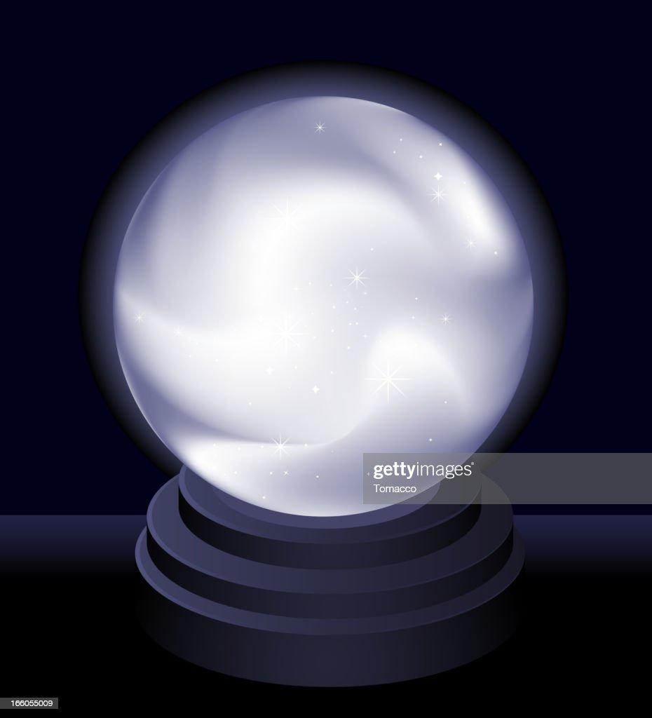 Magic Crystal Ball Fortune teller