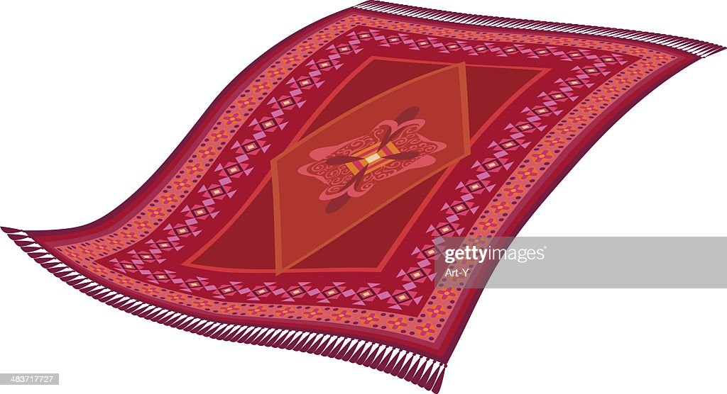 Magic flying rug