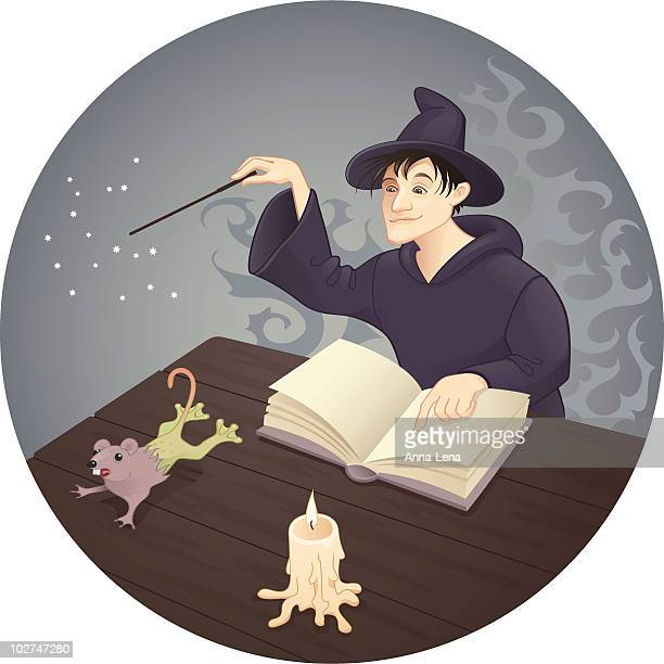 magic mistake - wizard stock illustrations, clip art, cartoons, & icons