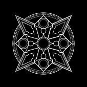 magic shuriken circle