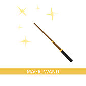 Magic Wand Isolated