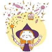 Magic Wand little witch
