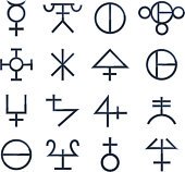 Magical Symbols Esoteric Magic Signs