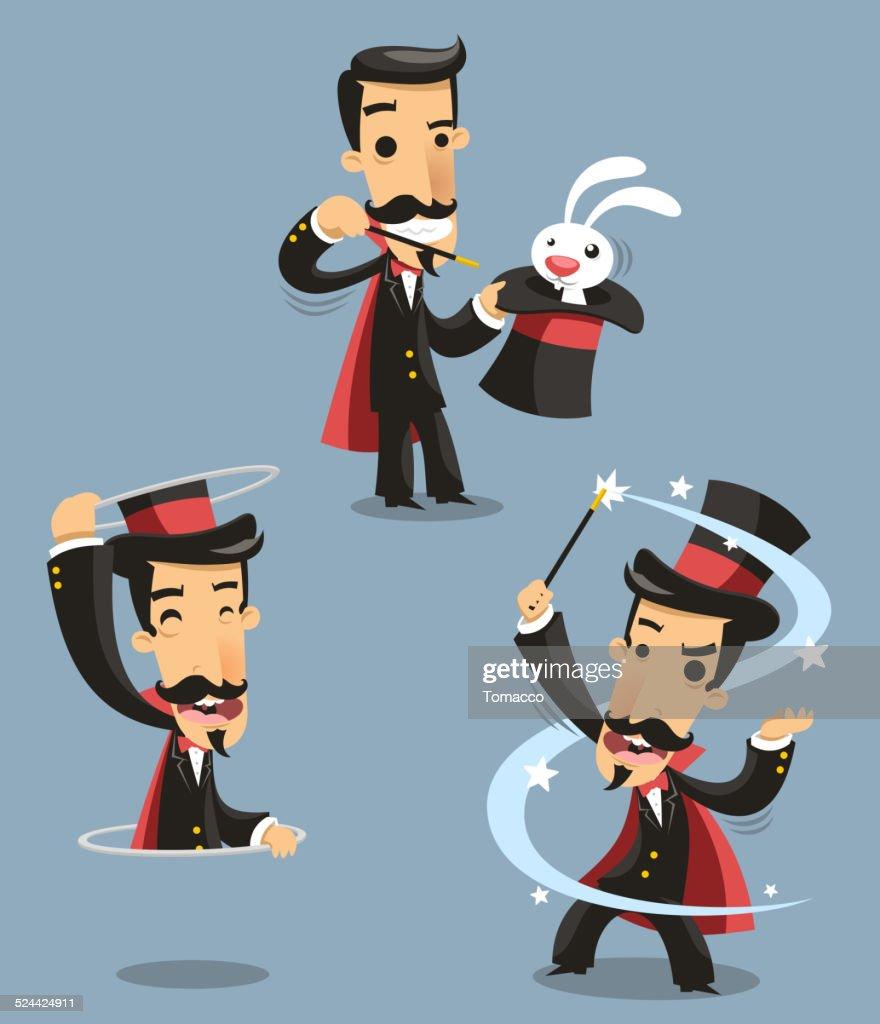 Magician Magic Trick Performance