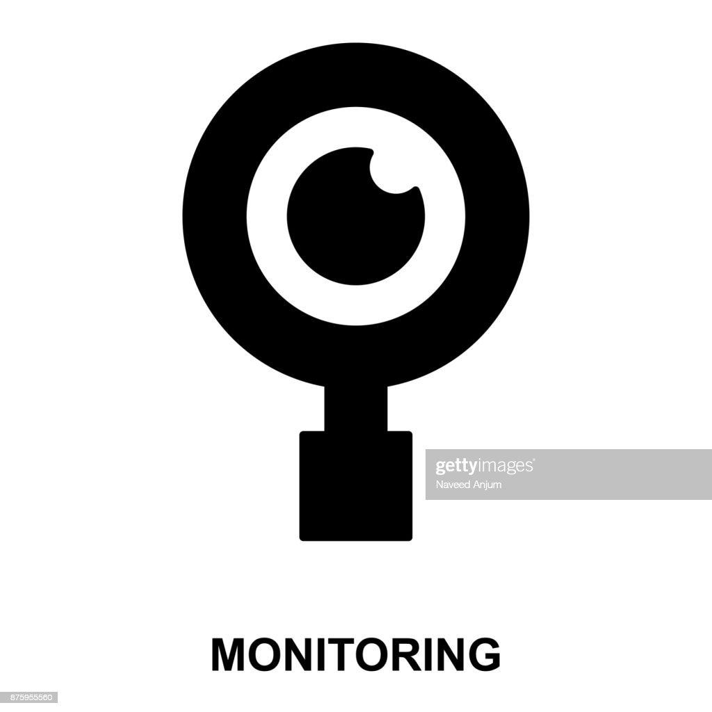 magnifier Glyphs Vector Icon