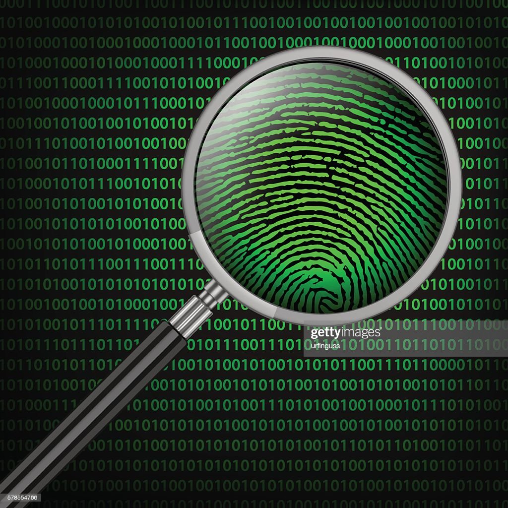 Magnifying Glass searching code for on-line activity