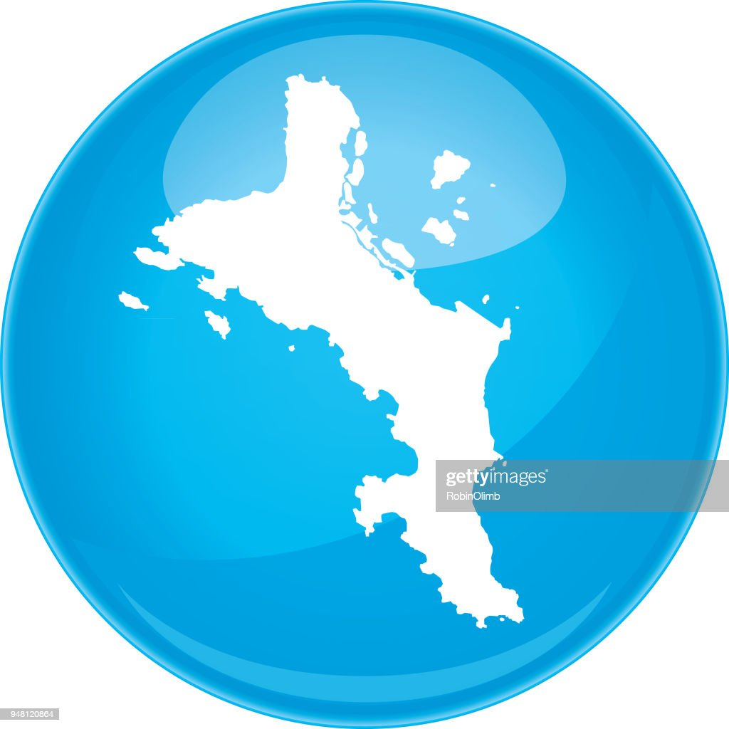 Mahe Island Sphere Map Vector Art Getty Images