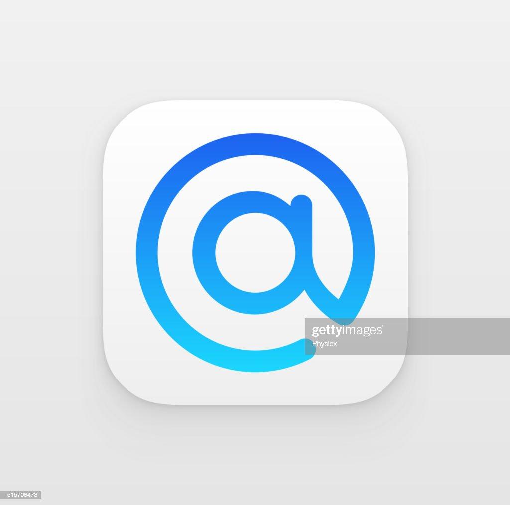 Mail App icon symbol
